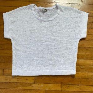 WD NY white sweater